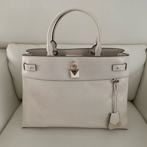 Michael Kors Gramercy Signature Lg Satchel Bag
